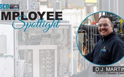 Employee Spotlight – DJ MARTINEZ