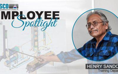 Employee Spotlight – HENRY SANDOVAL