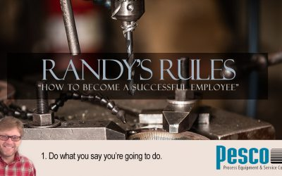 Randy's Rules, Part 1