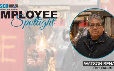 Employee Spotlight – WATSON BENALLY
