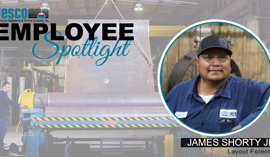 Employee Spotlight – JAMES SHORTY