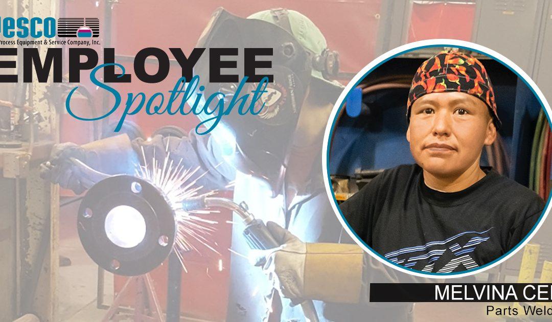 Employee Spotlight – MELVINA CEPI