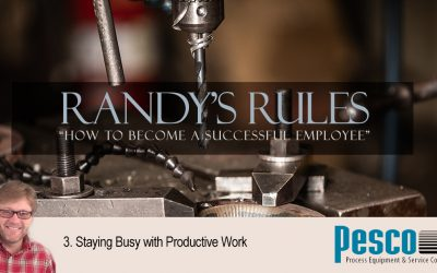 Randy's Rules, Part 3